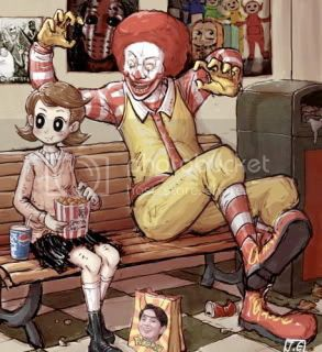 evil ronald mcdonald Pictures, Images and Photos