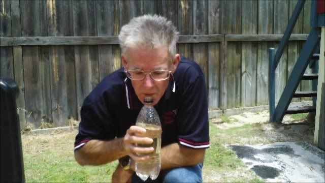 Plastic bottle as a tunable pan pipe